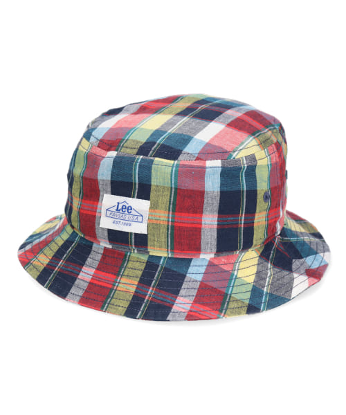 Lee KIDS BUCKET MADRAS CHECK