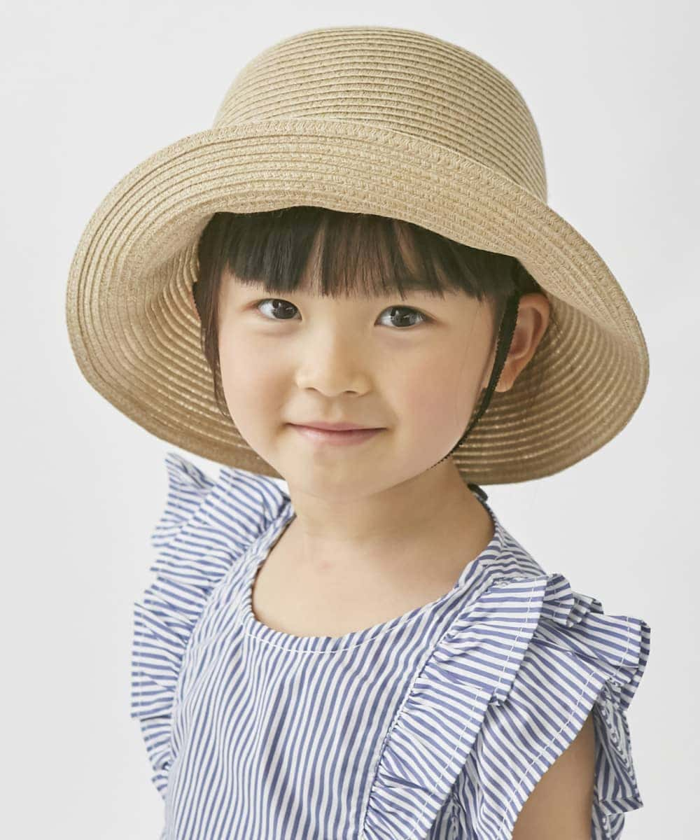 milsa Kids Washeble Braid Ribbon Capeline