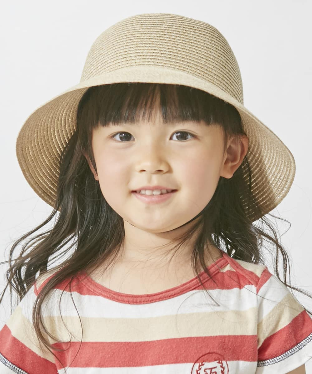【予約】milsa Kids Washeble Braid Ribbon Capeline