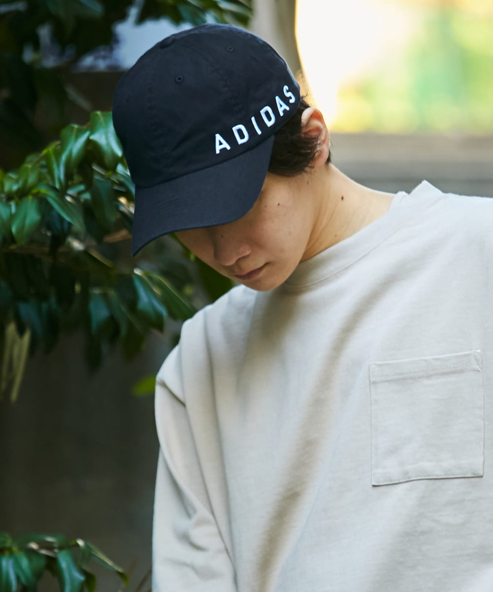 【予約】adidas LINEAR ORGANIC COTTON CAP
