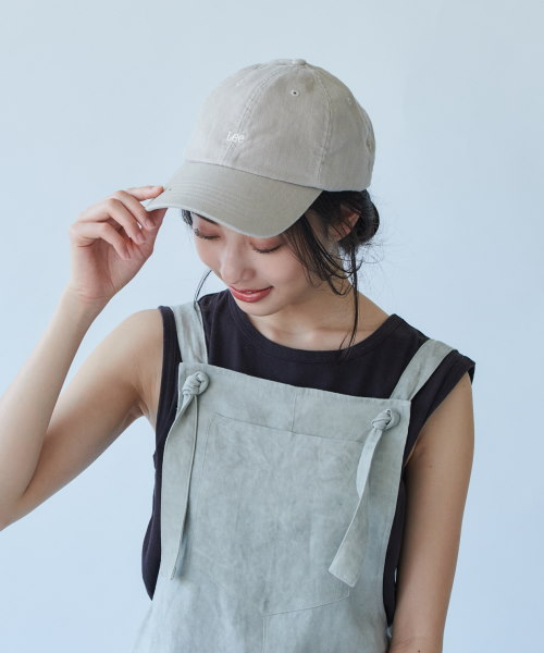 【予約】Lee LOW CAP LINEN