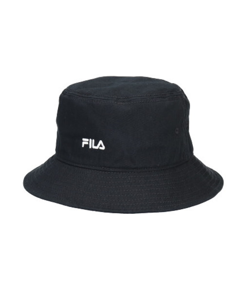 FILA EMB COTTON BUCKET HAT