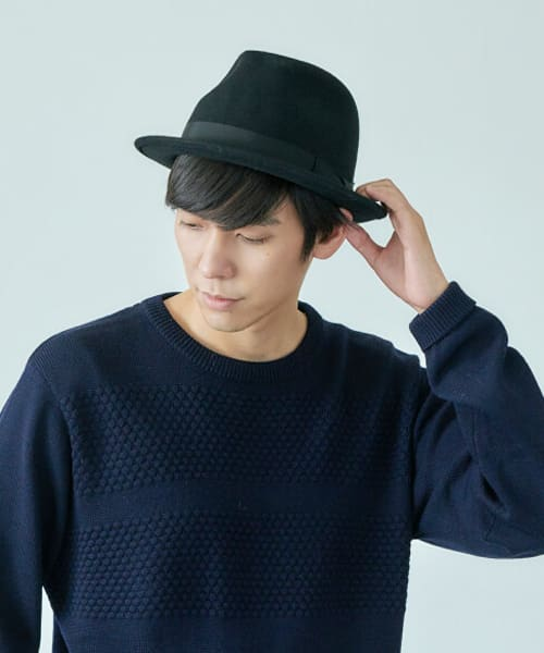 override WOOL HIGHBACK HAT