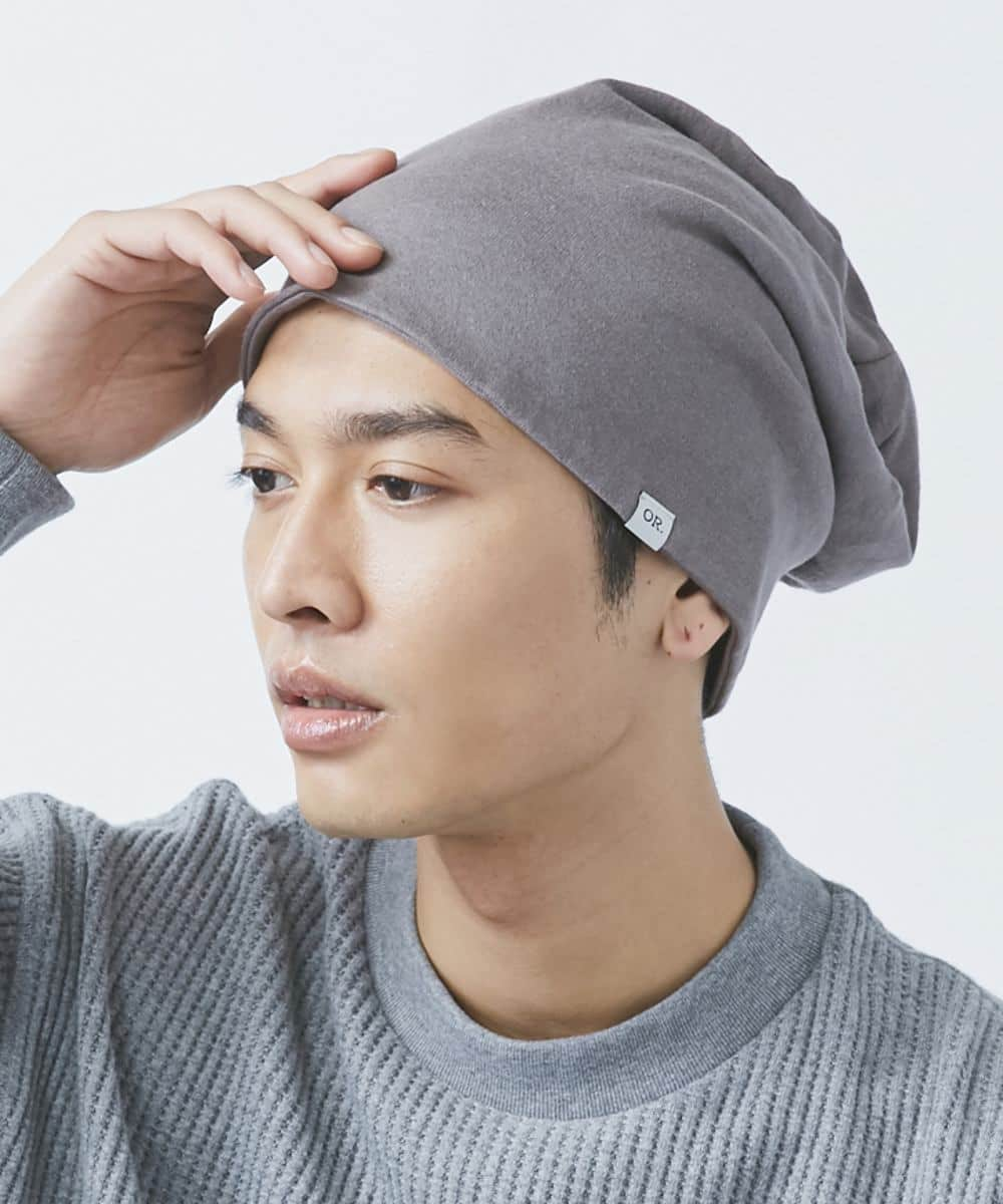 OVERRIDE 2WAY BEANIE FRENCH TERRY