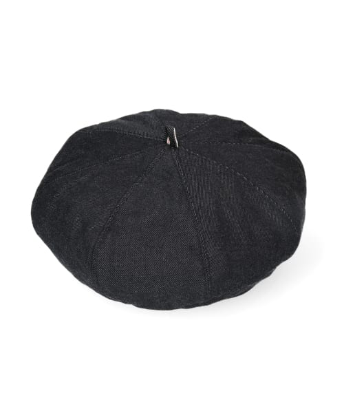 OVERRIDE DENIM BERET J-QUALITY