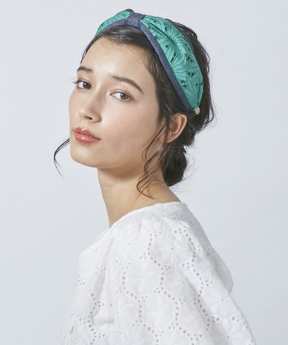 Chapeau d' O Flower Lace Headband