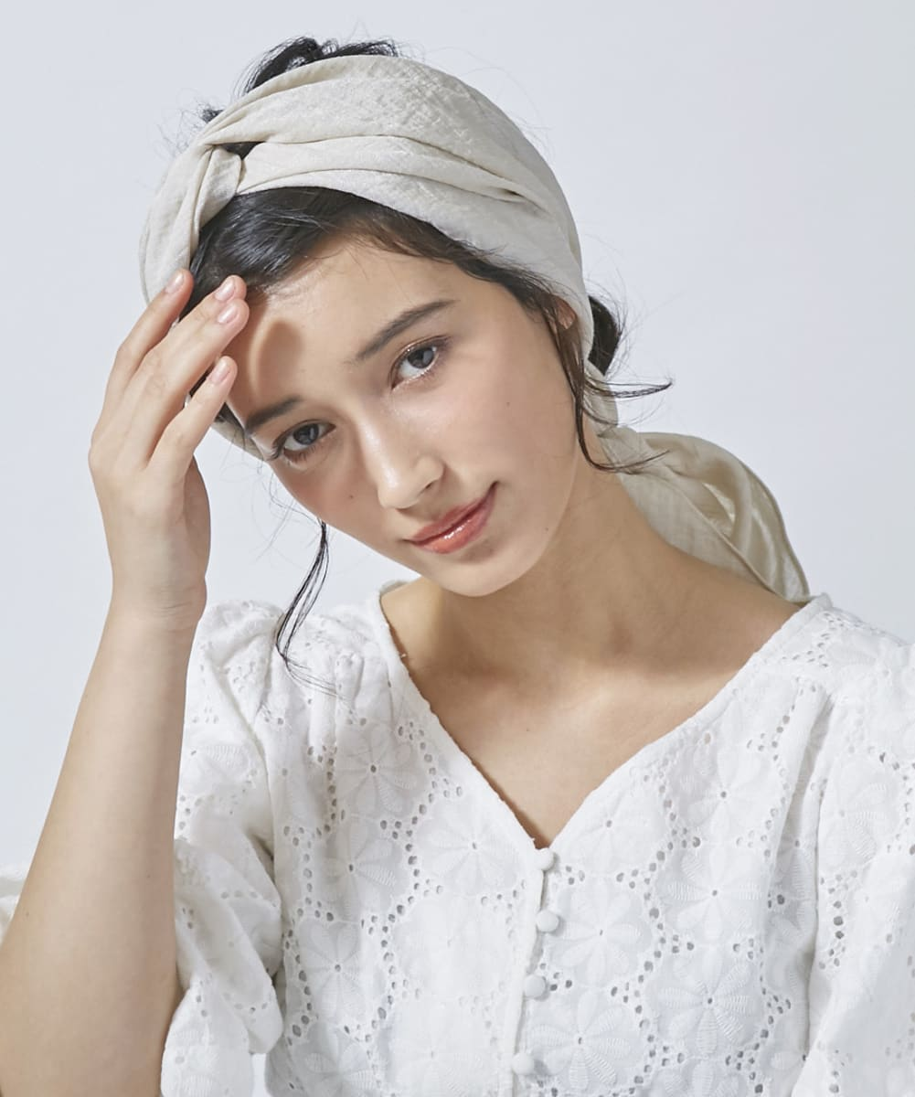 【Ray5月号掲載】Chapeau d' O Shiny Double Knot Turban