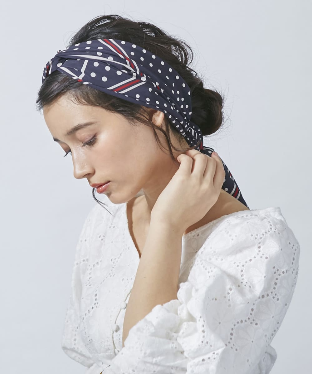 Chapeau d' O Dot Double Knot Turban
