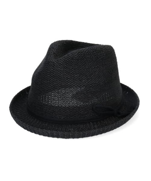 OVERRIDE PAPER KNIT FEDORA Ag+
