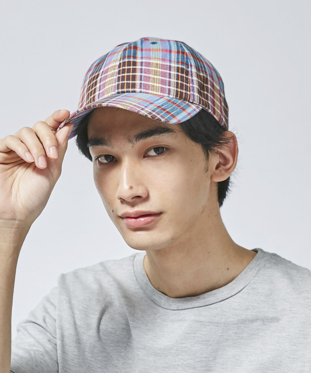 OVERRIDE INDIA MADRAS BASIC CAP