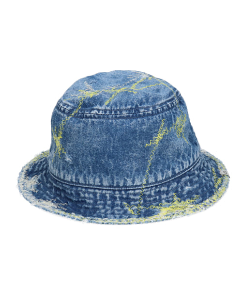 OVERRIDE GRUNGE DENIM BUCKET