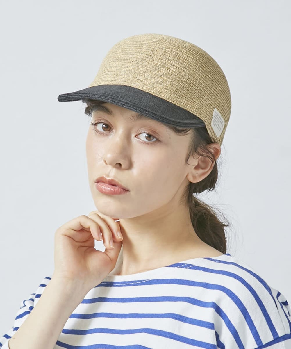 OVERRIDE P.Braid Back Belt Cap