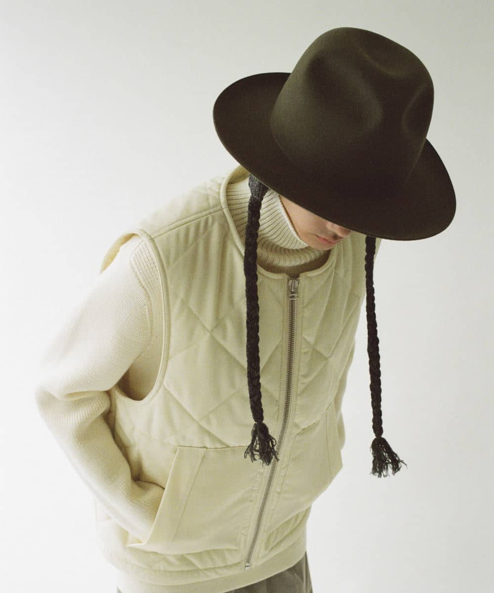 arth Knit Braid Fedora