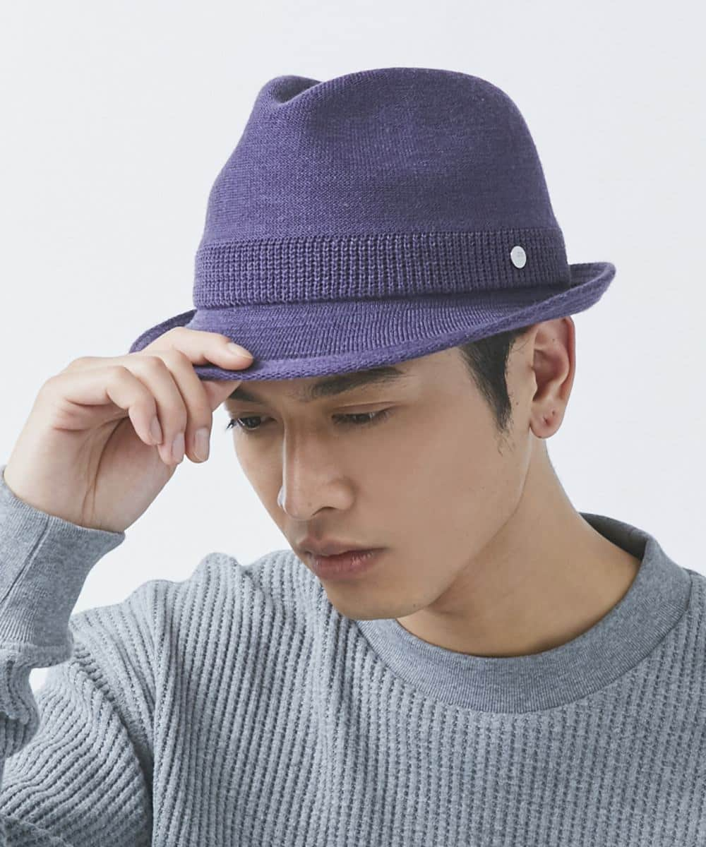 OVERRIDE  WASHABLE KNIT FEDORA BASIC