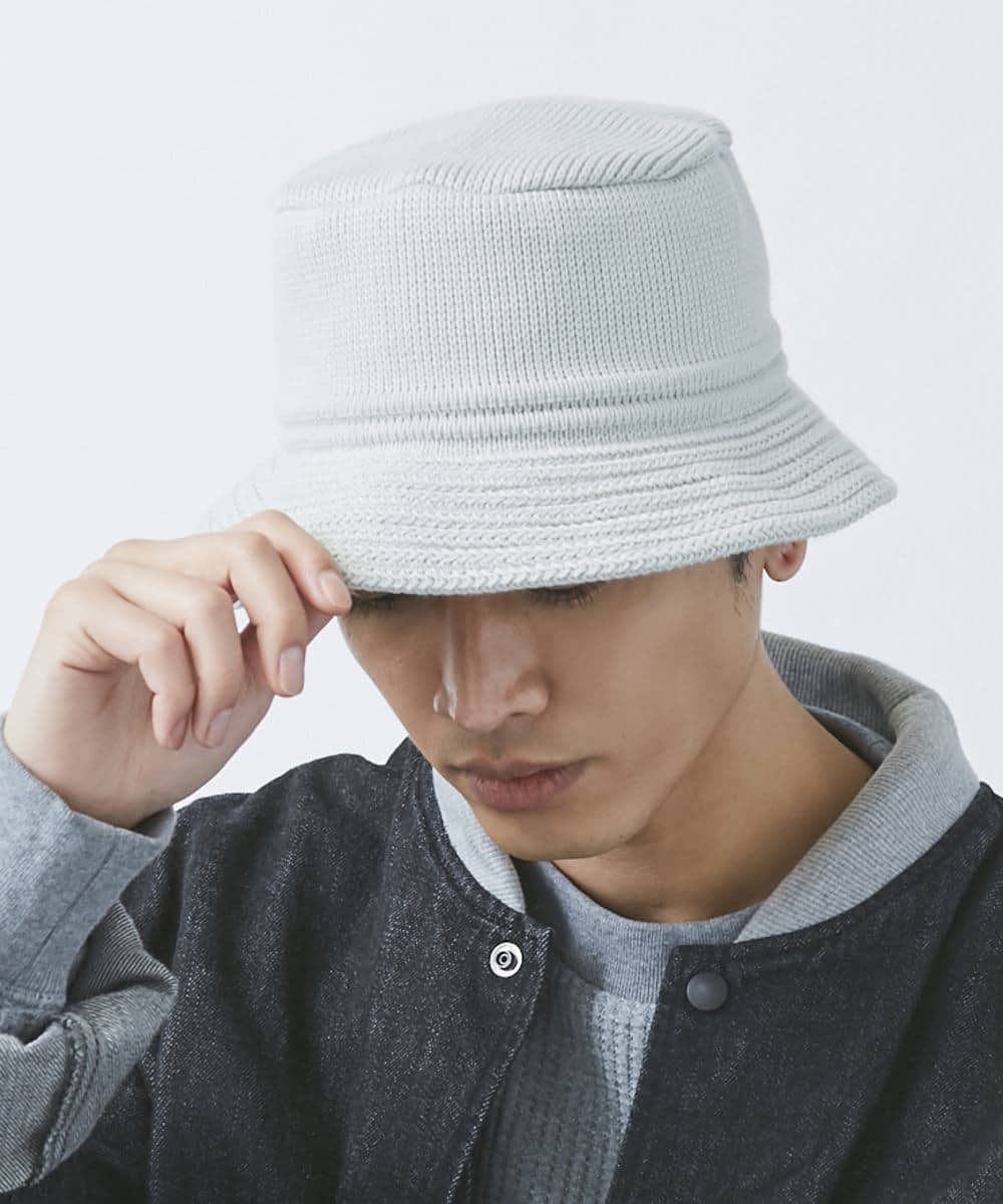 【予約】OVERRIDE KNIT BUCKET COTTON