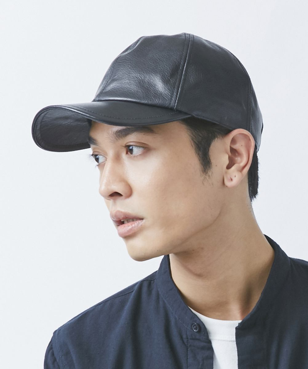 OVERRIDE LEATHER 6P CAP