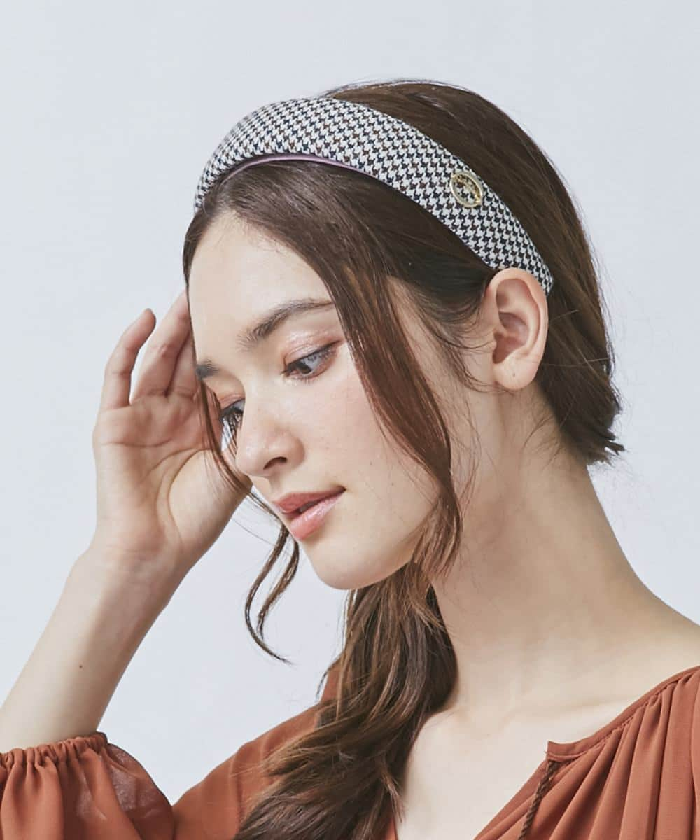 Chapeau d' O Check  Headband