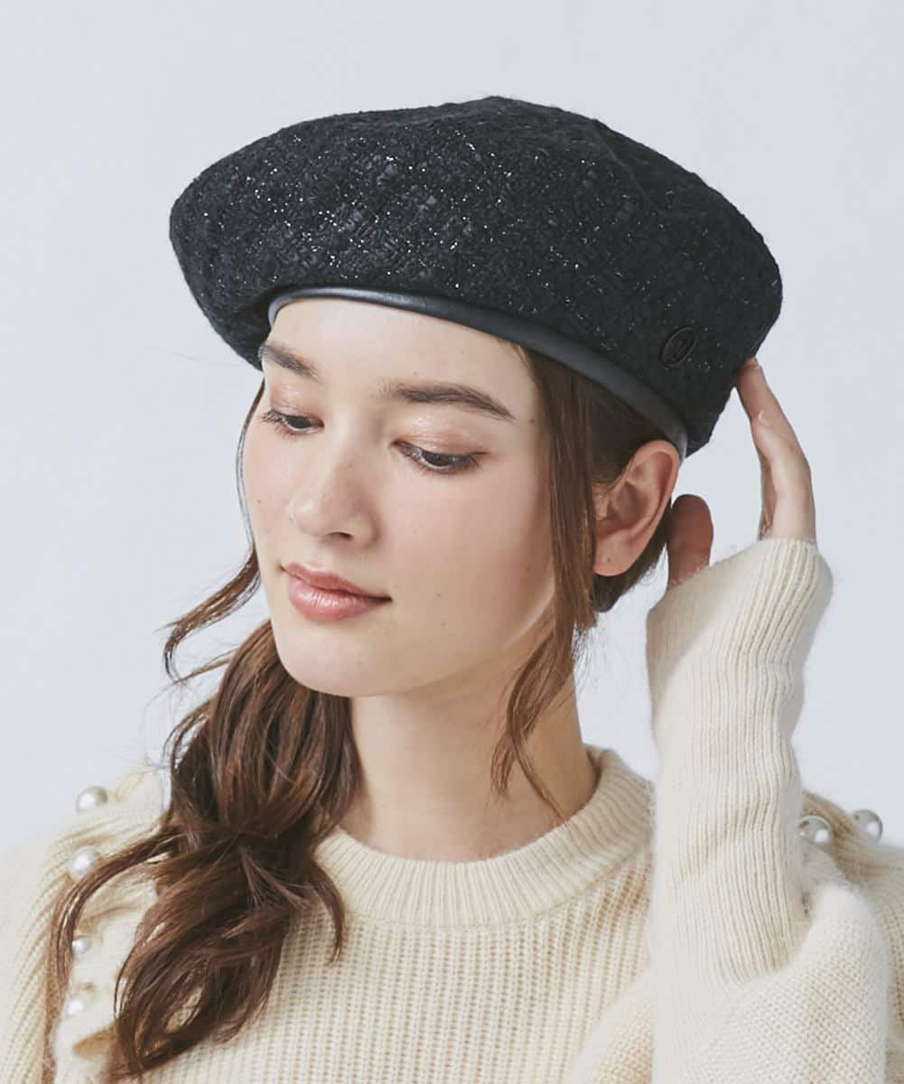 Chapeau d' O Fancy Tweed Beret