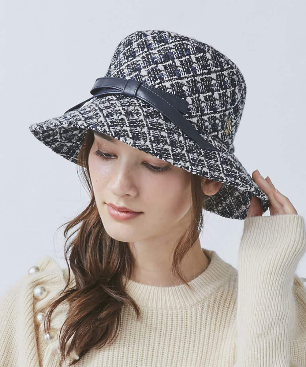 Chapeau d' O Fancy Tweed Cloche