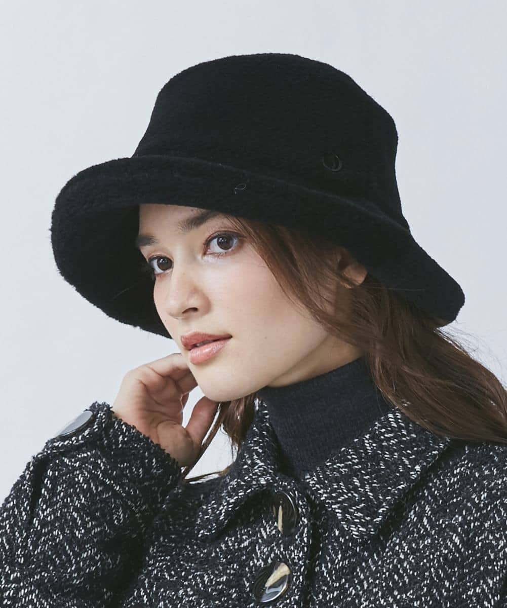 【予約】Chapeau d' O Wo Color Boa Bucket