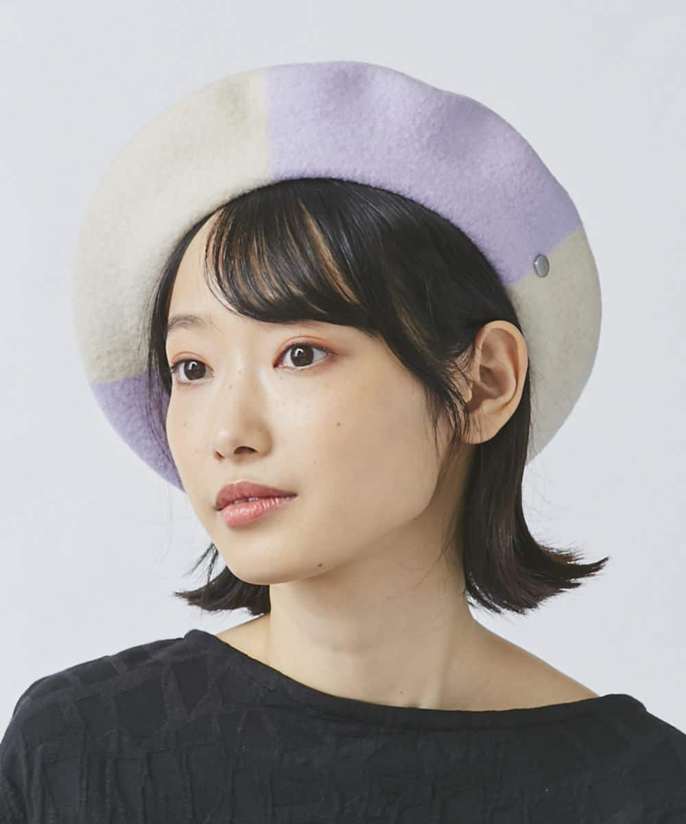 OVERRIDE BASQUE COLOR PANEL BERET
