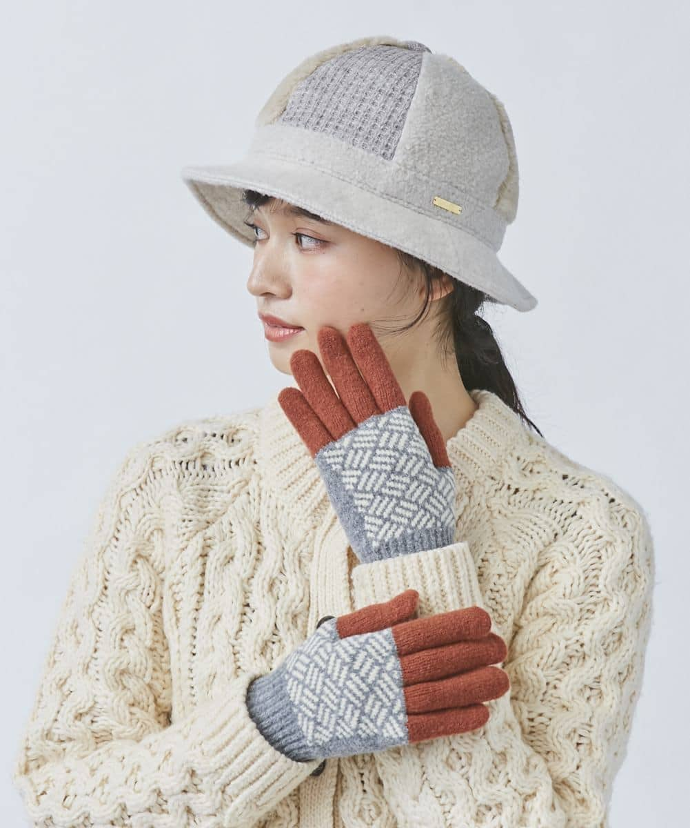 [ BISQUE ]TOUCH GLOVES
