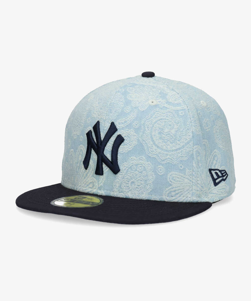 NEWERA 5950 NYY DENIM PAISLEY