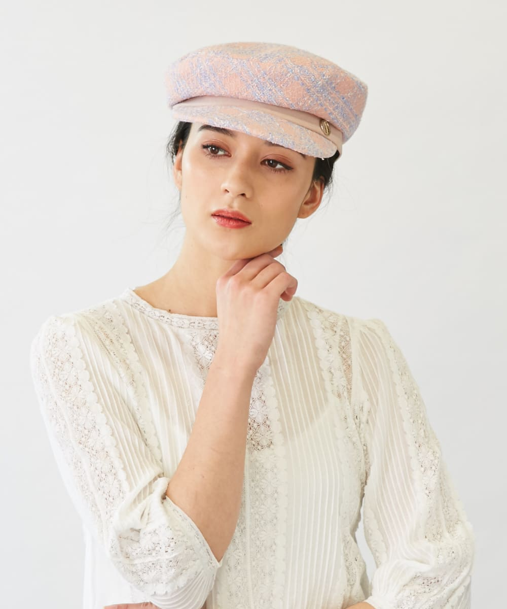 Chapeau d' O Summer Tweed Casquette