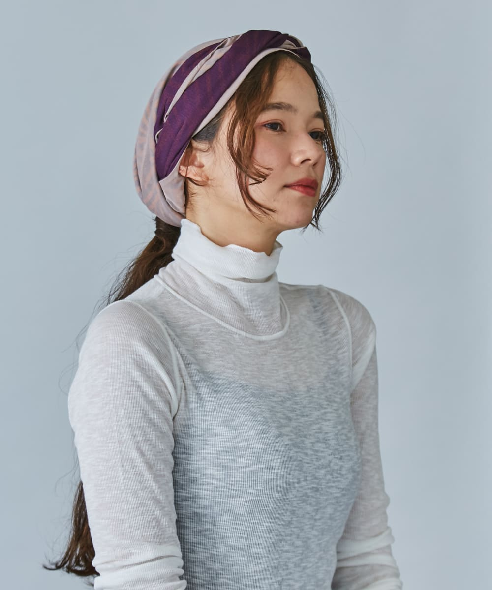 OVERRIDE SHEER MONA HEADWRAP