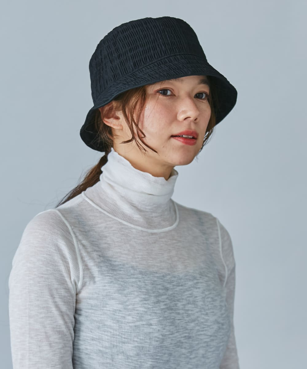 OVERRIDE GATHER BUCKET HAT