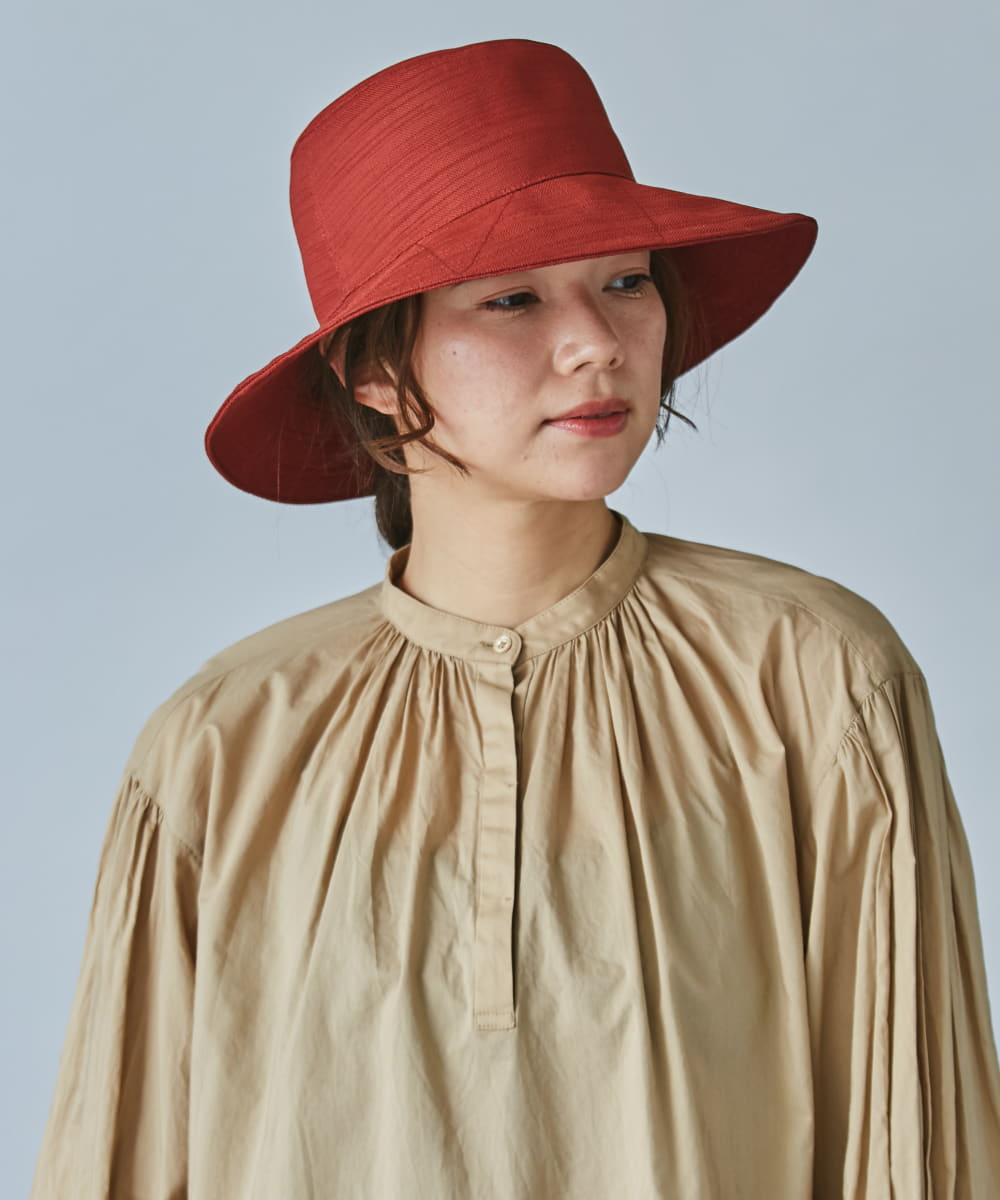 OVERRIDE LENO CLOTH SHEER HAT