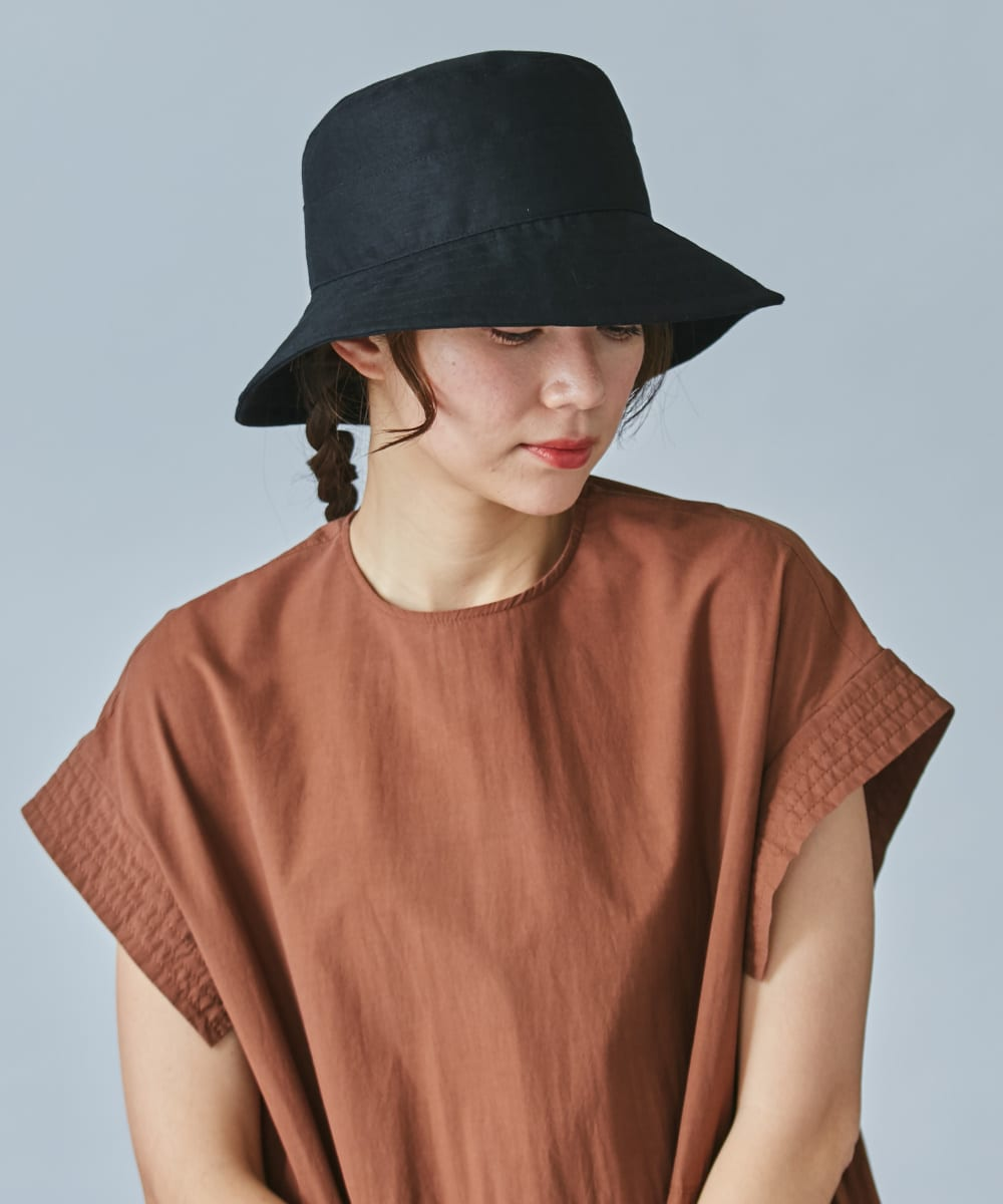 【予約】OVERRIDE COTTON LINEN HAT