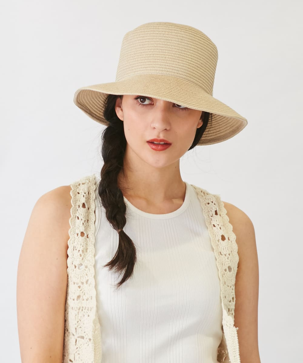 【予約】Chapeau d' O Color Braid Bucket