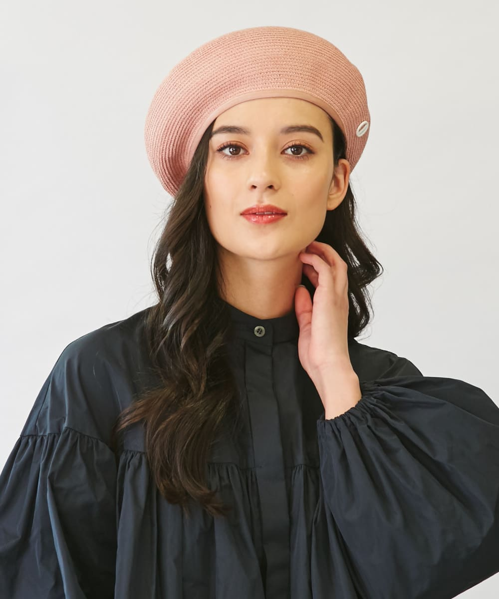 【予約】Chapeau d' O Silk Braid Beret
