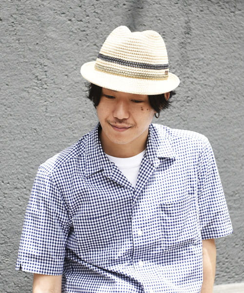 override WASHABLE KNIT FEDORA