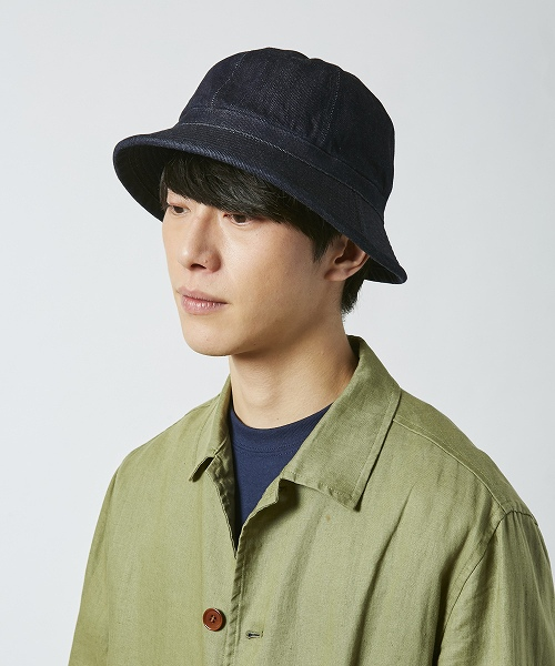 override [JQ] DENIM ARMY HAT