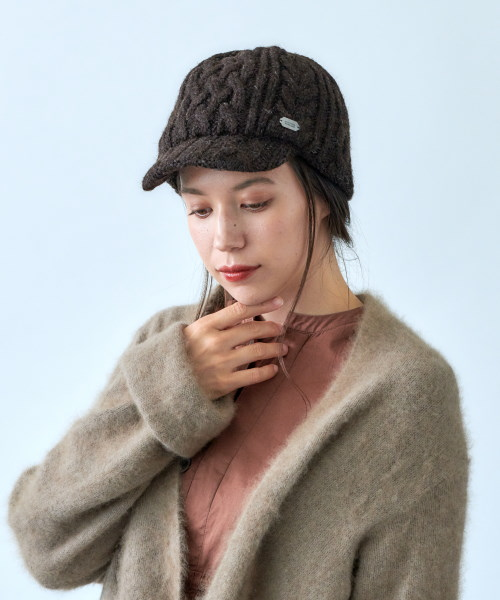override Brit Wool Alan Cap