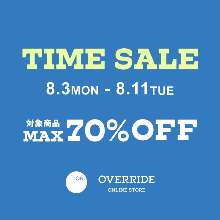 SPECIAL TIME SALE!!
